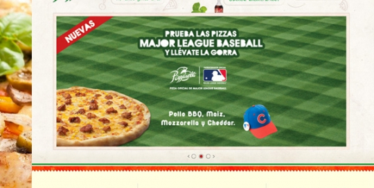 Diseño web Pizzarelli Restaurante en Wordpress