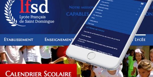 Diseño página web Liceo Francés en Wordpress