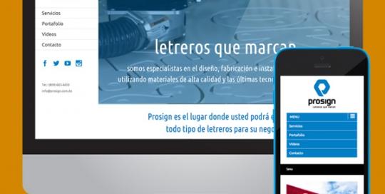 vanessa simpson web design wordpress profilm prosign
